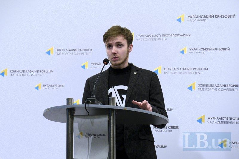 Олександр Соколенко, студент 5го курсу НМУ, голова *оздоровчої* комісії Профкому студентів НМУ