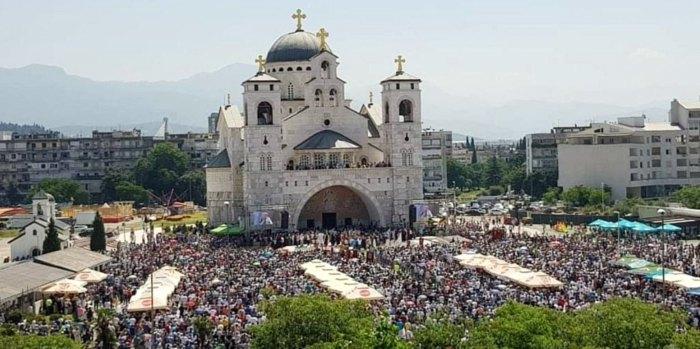 Собор Воскресения Христова Сербской православной церкви в Подгорице, Черногория