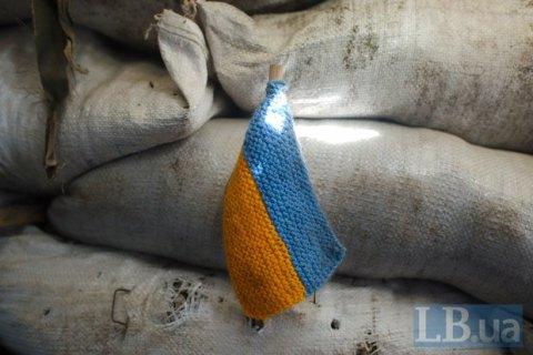 Одного військового поранено на Донбасі у п'ятницю