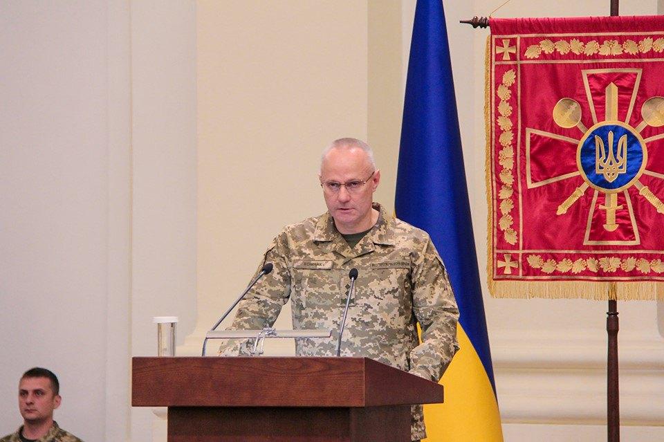 Головнокомандувач ЗСУ генерал-полковникРуслан Хомчак