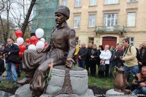 Во Львове открыли памятник Юрию Кульчицкому