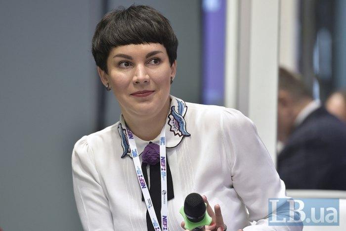 Модератор дискуссионной панели Соня Кошкина