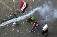 Полиция применила газ против демонстрантов в Каире