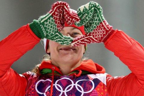 Біатлоністку Домрачову визнано найвпливовішою жінкою Білорусі