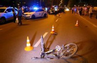 Справу про наїзд поліцейського авто на підлітка передали СБУ