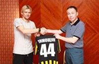 Тимощук продолжит карьеру в Казахстане