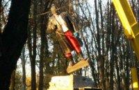 У Волновасі демонтували пам'ятник Леніну