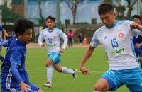 В 180 километрах от Китая стартовал национальный чемпионат по футболу