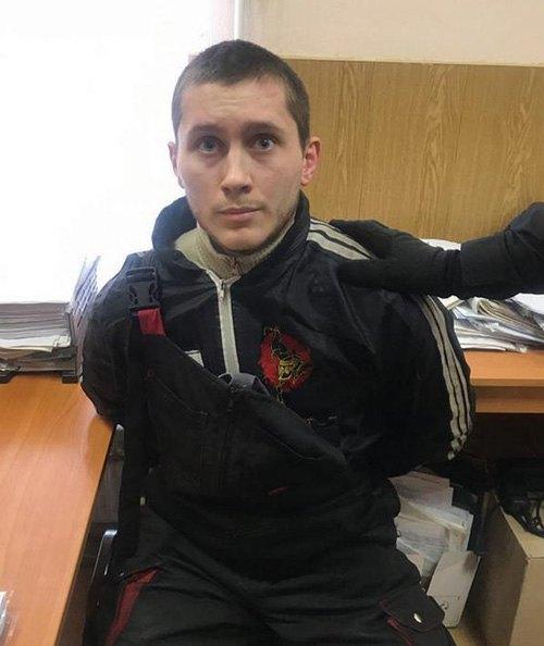Задержание Вадима Оленчика