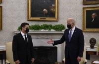 У Білому домі завершилася зустріч Зеленського та Байдена