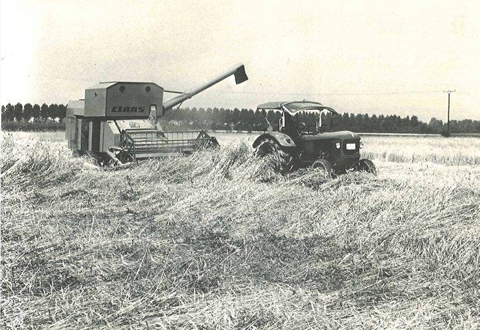 В период с 1967 по 1970 год было выпущено почти 1000 машин CLAAS GARANT