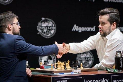 FIDE прервала финальный шахматный турнир претендентов