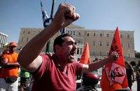 Греческие профсоюзы проведут общенациональную забастовку 18 октября