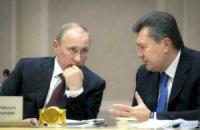 Янукович сегодня с рабочим визитом поедет к Путину