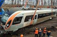 Ремонт поїзда Hyundai, який зійшов з рейок біля Запоріжжя, обійшовся у 67 млн гривень