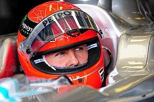 Шумахер получил удовольствие от вождения болида ночью