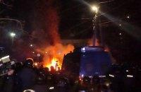 В МВД связали столкновения в Новых Санжарах с алкоголем