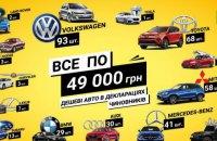 Украинские чиновники задекларировали 936 иномарок по цене меньше 50 тыс. гривен