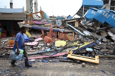 Число жертв землетрясения в Эквадоре достигло 480 человек
