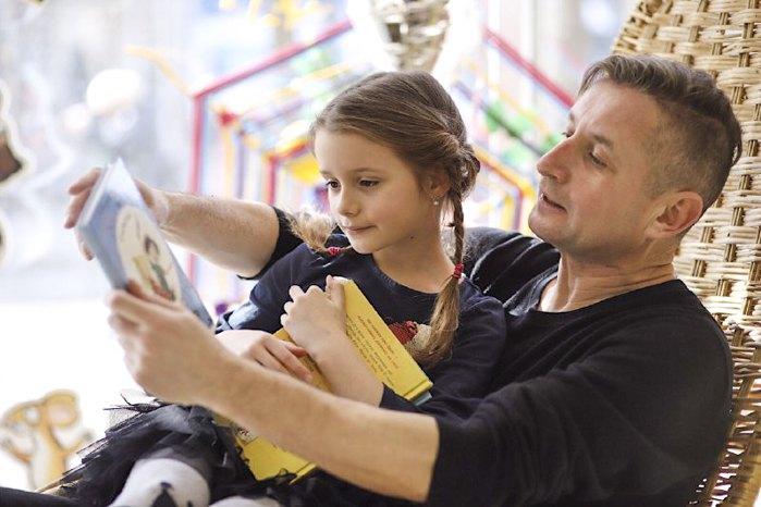 Сергій Жадан із донькою Марією