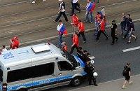 В Варшаве задержали еще 70 российских фанатов
