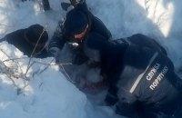 В Харьковской области 12-летнюю школьницу засыпало двухметровым слоем снега