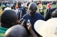 51-річний президент Ліберії відіграв 79 хвилин за свою збірну в футбольному матчі проти Нігерії (оновлено)