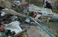 4% территории Украины занимают отходы