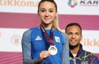 """Українка Терлюга завоювала """"золото"""" на турнірі з карате зі зламаним пальцем"""