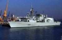 В Одессу вошли два корабля НАТО, они открыты для посещения