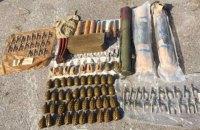 Под Одессой обнаружили тайник с боеприпасами