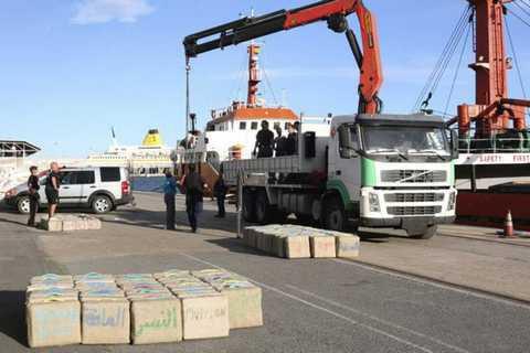 В Іспанії затримали 11 українських моряків із суховантажа, на якому знайшли 18 тонн гашишу