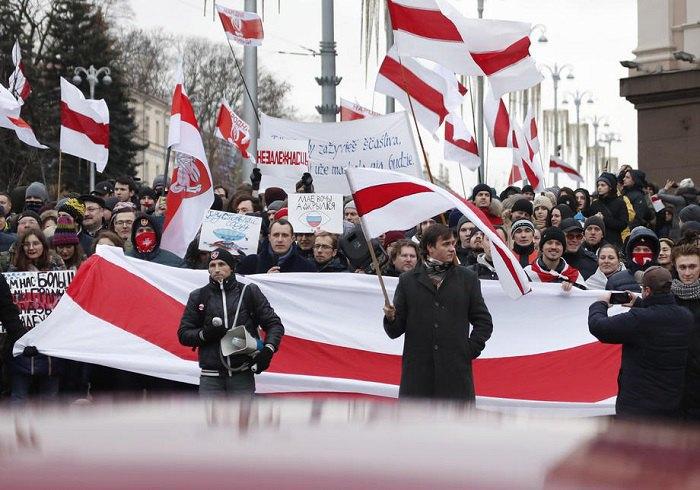 Митинги в Минске против создания Союзного государства России и Беларуси, 2019 год