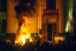 В Харькове на груди курсанта внутренних войск разорвалась светошумовая граната