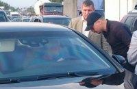 В Киеве полиция остановила автомобиль Суркиса