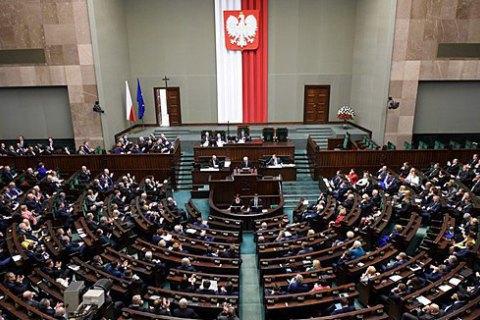 Сейм Польщі змінив процедуру працевлаштування українців