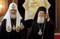 Кирилл не поздравил Варфоломея с Рождеством