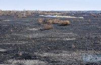 В Чернобыльской зоне продолжается ликвидация тления, открытого огня нет