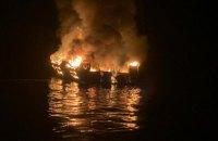 Водолази виявили тіла 25 загиблих після пожежі на кораблі в Каліфорнії