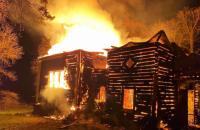 В Хмельницкой области сгорела деревянная церковь