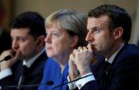Зеленський: Німеччина і Франція бояться назвати Росію стороною конфлікту на Донбасі