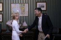 Тимошенко обсудила с послом США, как давить на Россию