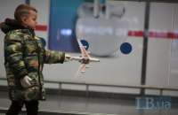 Киевские аэропорты за год обслужили почти 18 млн пассажиров
