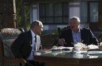 """Путін і Лукашенко домовились зустрітись у Москві """"найближчим часом"""""""