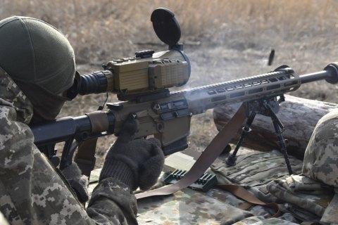 Оккупанты за сутки девять раз обстреляли позиции ВСУ на Донбассе
