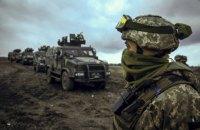 Оккупанты с нарушением линии отвода разместили в оккупированном поселке танки