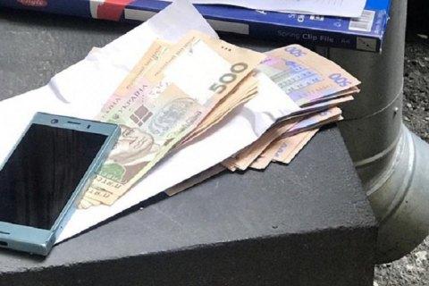 """Руководителя службы котельных """"Киевгаза"""" задержали при получении 50 тыс. гривен взятки"""