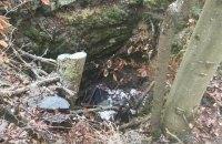 Таблицу с могилы воинов УПА в Польше выбросили в яму