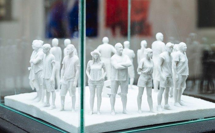 """Павла Нікітіна (Україна – Чехія), Іржі Пец (Чехія), """"Було"""", зменшена репліка скульптури"""