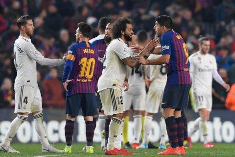 """К вопросу проведения матча между """"Барселоной"""" и """"Реалом"""" подключилось испанское правительство"""